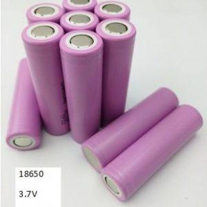 Pila Recargable 18650 3.7 Voltios 2600 mAh Samsung