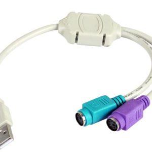 Cable Adaptador Usb a Ps2