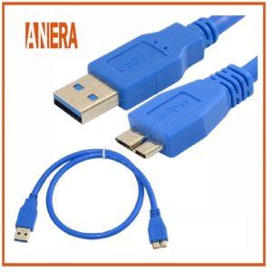 Cable Usb 3.0 Micro para Disco Duro Externo Toshiba