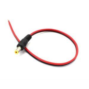 Cable con Conector Plug DC Macho CCTV