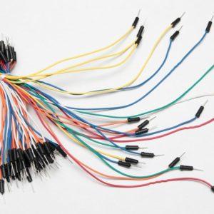 Alambre para Protoboard Kit 65 Cables