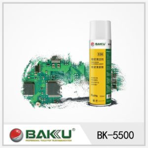 Spray Limpiador de Contactos 550 ml Baku BK-5500