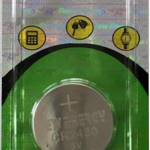 Pila de Reloj CR2430 New Energy