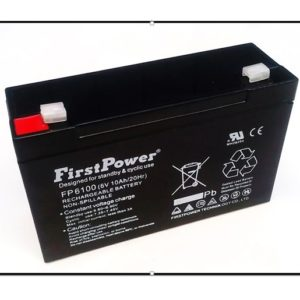 Batería Recargable Seca 6V 10Ah FP6100
