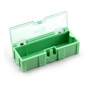 Caja Plástica para Componentes Electrónicos Mediana 7.4x3.1x2.1 Cm