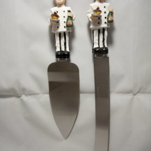 Set de Cuchillo y Pala para Servir Pastel
