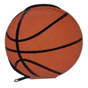 Estuche Porta Cd Diseño Balón de Basket para 24 Cds