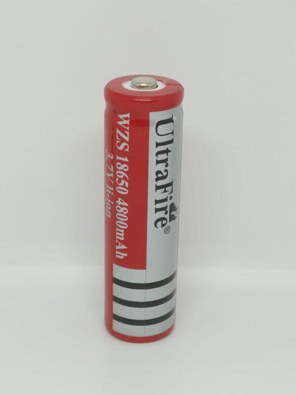 Batería Recargable WZS Ultrafire 18650 3.7V 4800mAh Li-Ion