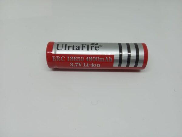 Batería Recargable BRC Ultrafire 18650 3.7V 4800mAh