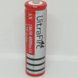 Batería Recargable AX UitraFlrc 18650 3.7V 4800mAh Li-Ion