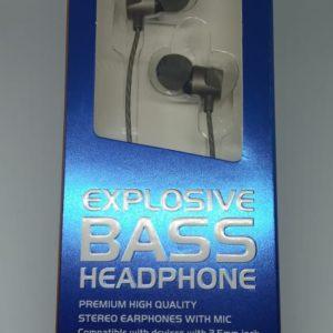 Audífonos Manos Libres Explosive Bass 3.5 mm AE-EPM22