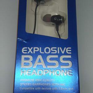 Audífonos Manos Libres Explosive Bass 3.5 mm AE-EPMG3