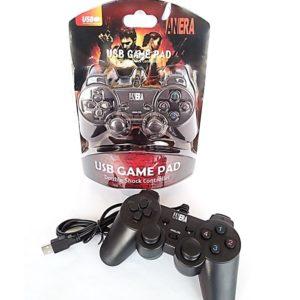 Control para PC Vídeo Juegos Usb 2.0 Negro Rojo
