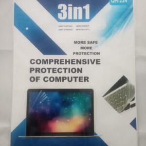 Kit Protector 3 en 1: Protector de Pantalla Protector de Teclado Protector de Tapa o Skin Transparente 14 Pulgadas