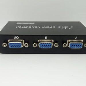 Switch y Splitter Vga 2 Puertos Resolución 1920 X 1440