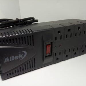 Regulador de Voltaje Altek 8 Tomas AVR2000PS