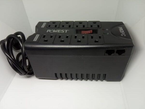 Regulador de Voltaje 1000 VA 8 Tomas