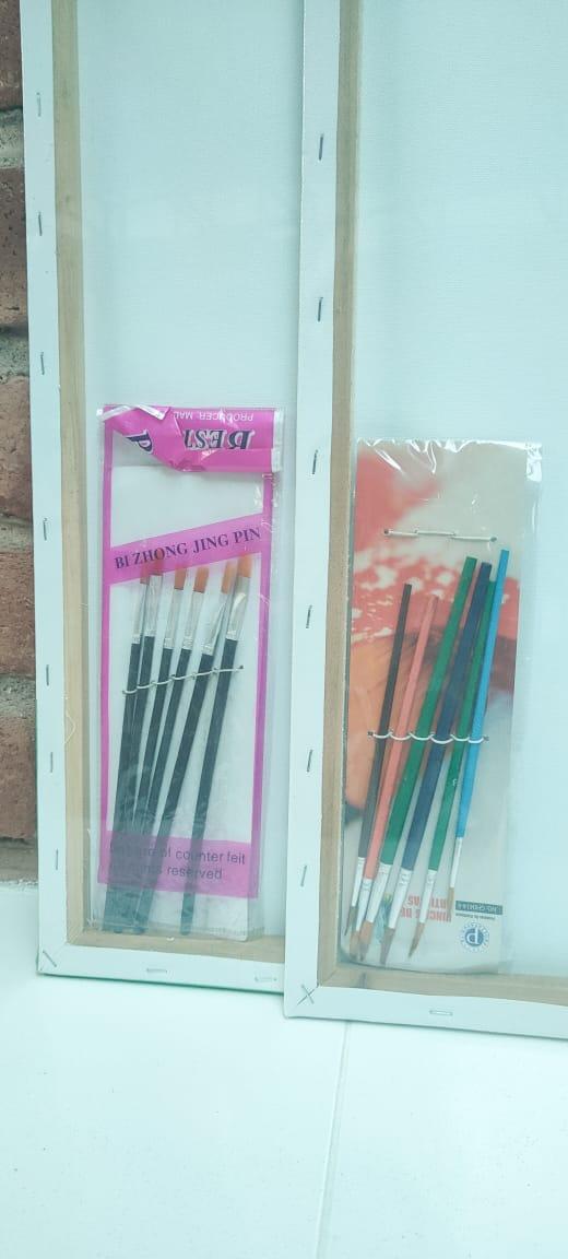 Lienzos para Pintar 40X60 Centímetros para Pintar en Oleo o Acrílico