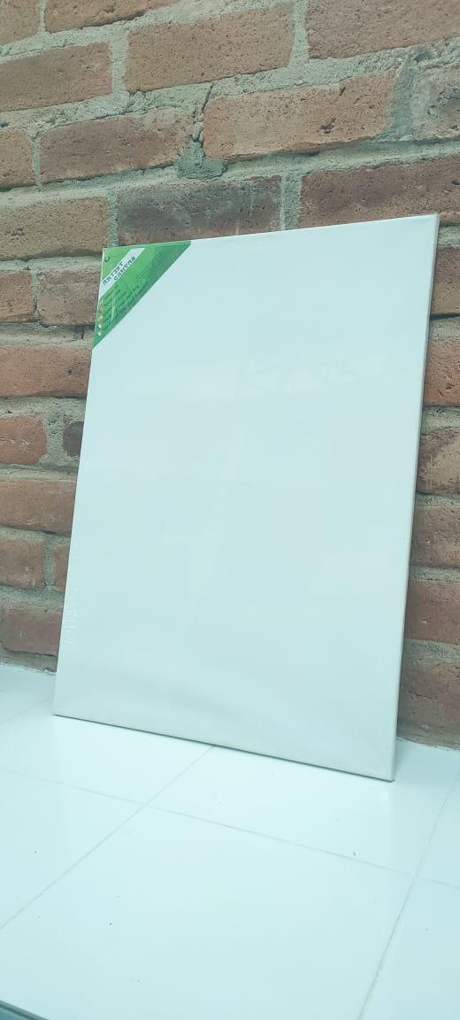 Lienzo Bastidor para Pintar 50X70 Cm para Pintar en Oleo o Acrílico